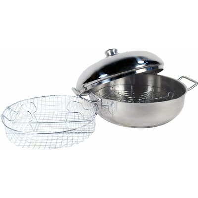 4 qt. Stainless Steel 4 Piece Cook Pan Set by Cook Pro