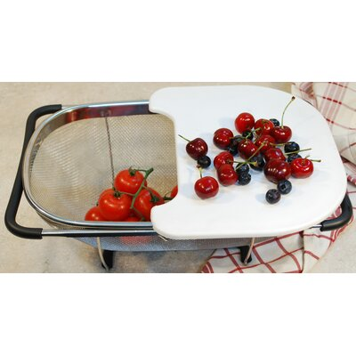 Over The Sink Strainer With Cutting Board by Cook Pro