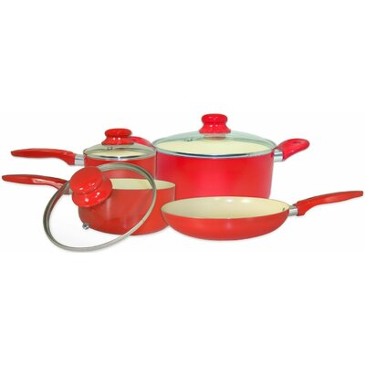7 Piece Aluminum Cookware Set by Cook Pro