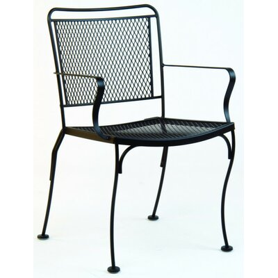 Woodard Constantine Stacking Dining Arm Chair
