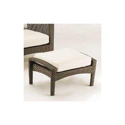 Woodard Trinidad Ottoman with Cushion