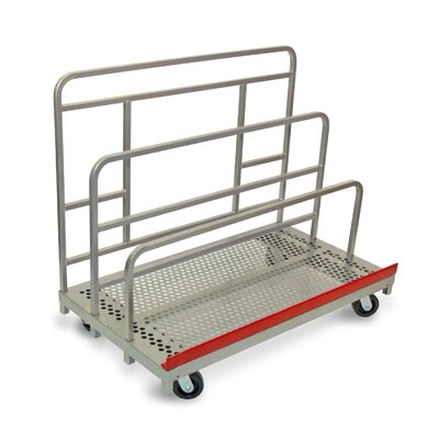 """Raymond Products 45.75"""" x 30"""" x 54"""" Heavy Duty Waterfall Panel and Sheet Mover Table Dolly"""