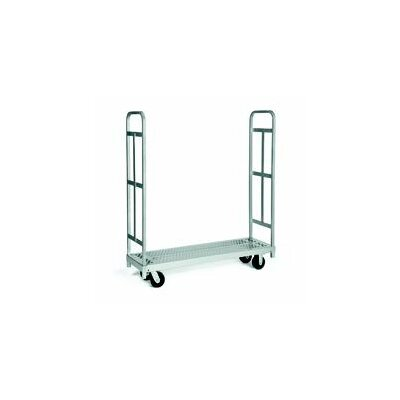 """Raymond Products 59.25"""" x 16.25"""" x 54"""" Narrow Tall End Truck and Phenolic Casters Table Dolly"""