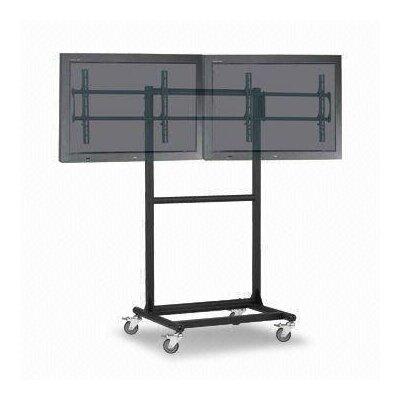 Cotytech Ergonomic Mobile Dual TV Cart