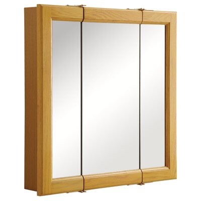 "Claremont 24"" x 24"" Tri-View Medicine Cabinet Product Photo"