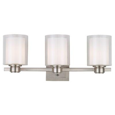 Bathroom Vanity Lights Reviews : Design House Oslo 3 Light Bath Vanity Light & Reviews Wayfair