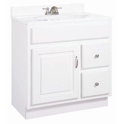"Design House Concord 31"" Single Door Bathroom Vanity Set"