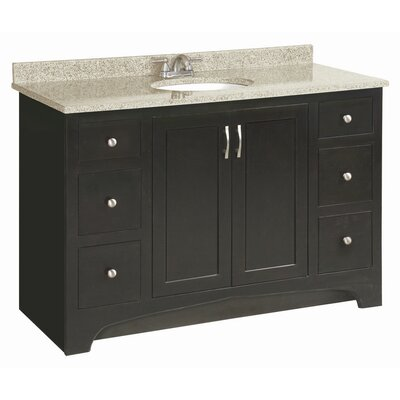 Luxury Design House 539593 Ventura Espresso Vanity Cabinet With 2Doors 30