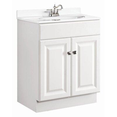 """Design House Wyndham 25"""" Double Door Bathroom Vanity"""