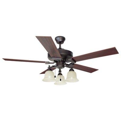 "52"" Ironwood 5 Blade Ceiling Fan Product Photo"