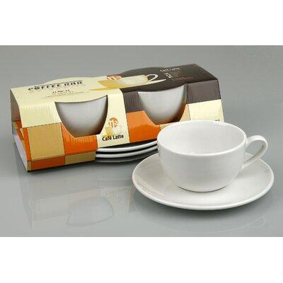 Konitz Coffee Bar Mug and Saucer