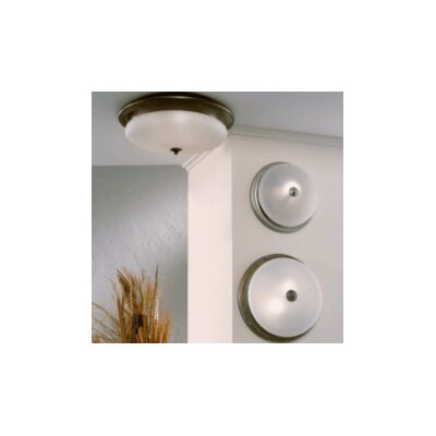 Lustrarte Lighting Classic Scavo 1 Light Semi Flush Mount