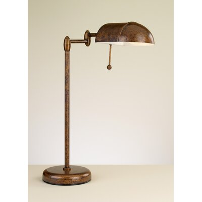 """Lustrarte Lighting Contemporary Office 20"""" H Table Lamp with Rectangular Shade"""