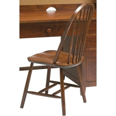 Wakefield Traditional Bow Back Desk Side Chair by Bolton Furniture