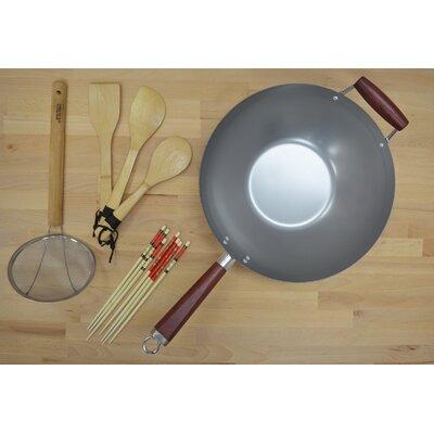 Natural Wok 4-Piece Cookware Set by IMUSA
