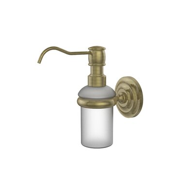 Allied Brass Universal Wall Mounted Soap Dispenser