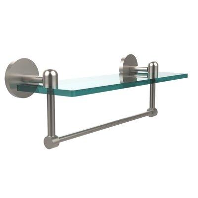 Allied Brass Tango Bathroom Shelf with Towel Bar