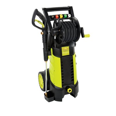 Pressure Joe 2030 PSI 1.76 GPM 14.5-Amp Electric Pressure Washer with Hose Reel by Sun ...