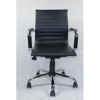 Winport Industries WIinport Mid-Back Swivel Conference Chair