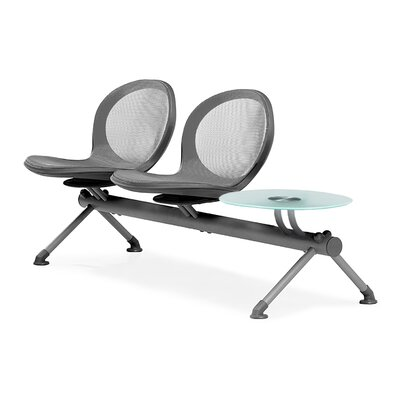 OFM Net Series Two Seat Bench with Table