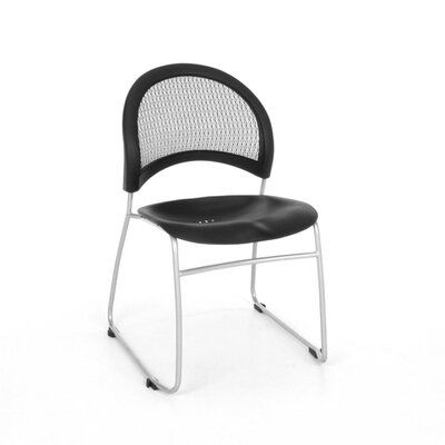 OFM Stars and Moon Armless Stacking Chair with Cushion