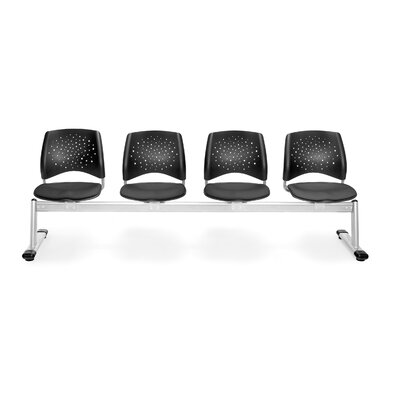 OFM Stars and Moon Four Chair Beam Seating