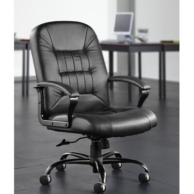 OFM Leather Back Big and Tall Executive Chair with Arms