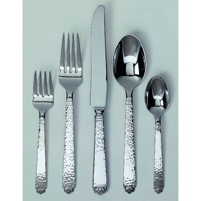 Oakleaf 45 Piece Flatware Set by Ginkgo
