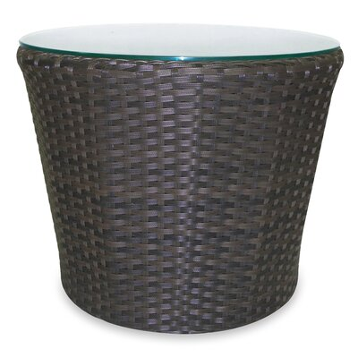 Wave Round Side Table by Source Outdoor