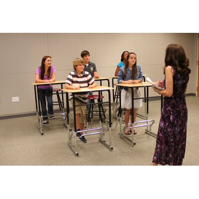 Stand2Learn Stand-Biased Adjustable Height Classroom Desk