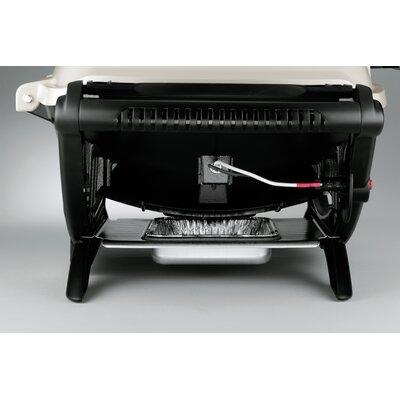 weber q series 2000 lp titanium gas grill reviews wayfair. Black Bedroom Furniture Sets. Home Design Ideas