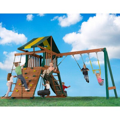 Wood Turtle Cove Swing Set Product Photo