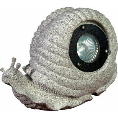 1 Light Snail Garden Accent Light by Dabmar Lighting