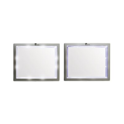 Toilet Tree Products Fogless Shower Mirror with LED Lights
