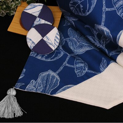 Bouquet Table Linen and Placemat Reversible Table Runner by Pacific Table Linens