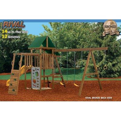 Playstar Inc. Rival Bronze Swing Set