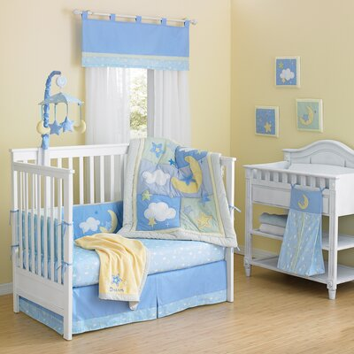 Wish I May Quintessential Cotton quilted 10 Piece Crib Bedding Set by Laugh, Giggle & ...