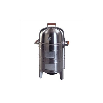 MECO Corporation Southern County Stainless Steel Charcoal Smoker