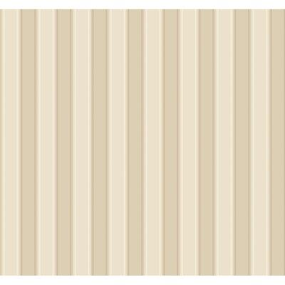 "York Wallcoverings Ashford Silk 27' x 27"" Stripe Distressed Wallpaper"