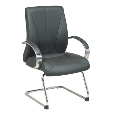 Office Star Products ProLine II Deluxe Leather Guest Chair