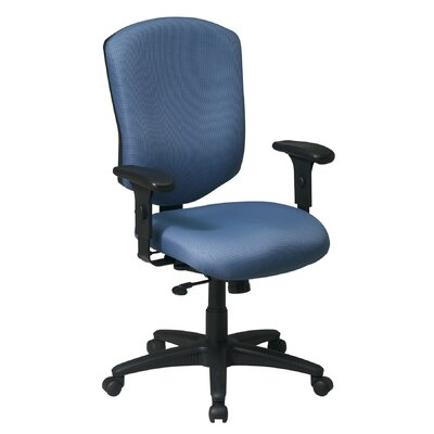 Office Star Products Work Smart High-Back Executive Chair with Arms