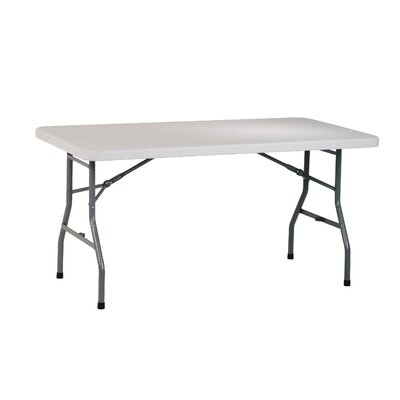 """Office Star Products Work Smart 60"""" Rectangular Folding Table"""