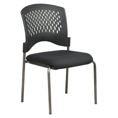 Office Star Products Visitor's Armless Stacking Chair