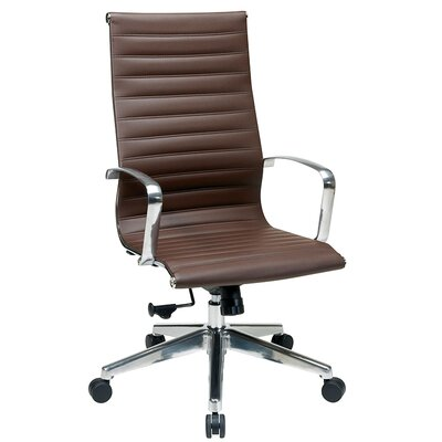 Office Star Products Adjustable High-Back Deluxe Office Chair