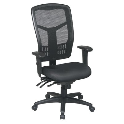 Office Star Products ProLine Ii ProGrid I High-Back Control Conference Chair