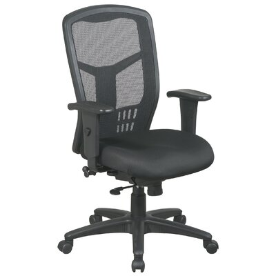 Office Star Products ProLine II ProGrid High-Back Conference Chair with Arms