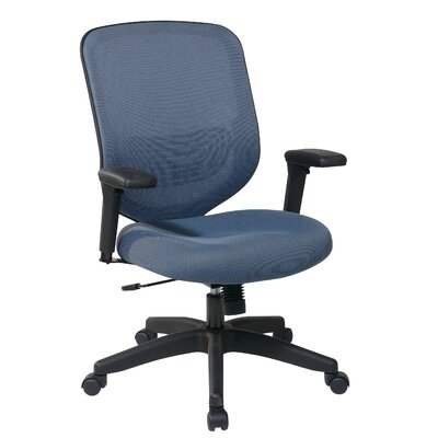 Office Star Products Space Seating Mesh Seat and Back Task Chair