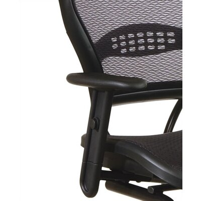 Office Star Products SPACE Air Grid Back Guest Chair