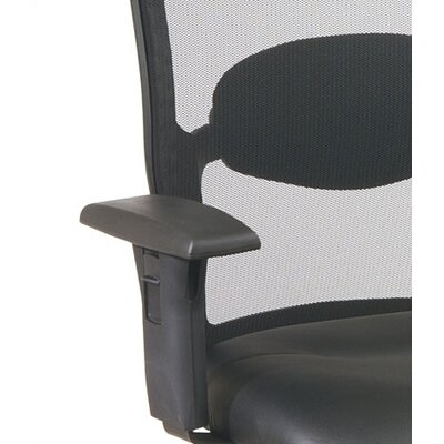 Office Star Products Screen Mid-Back Mesh Office Chair with Arms