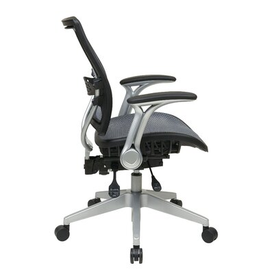 Office Star Products Professional Air Grid Back Conference Chair with Flip Arms